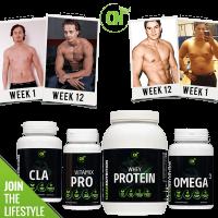 Afslank pakket voor mannen van Clean Nutrition